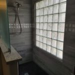 Bathroom Remodel Glass Wall